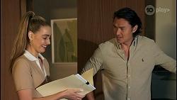 Chloe Brennan, Leo Tanaka in Neighbours Episode 8650