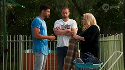 Levi Canning, Kyle Canning, Sheila Canning in Neighbours Episode 8650