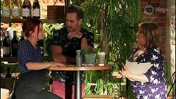 Nicolette Stone, Aaron Brennan, Terese Willis in Neighbours Episode 8650