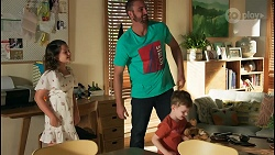 Nell Rebecchi, Kyle Canning, Hugo Somers in Neighbours Episode 8651