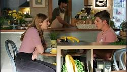 Mackenzie Hargreaves, Hendrix Greyson in Neighbours Episode 8651