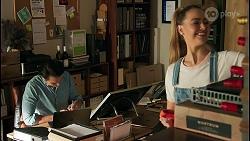 Leo Tanaka, Chloe Brennan in Neighbours Episode 8651