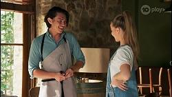 Leo Tanaka, Chloe Brennan in Neighbours Episode 8652