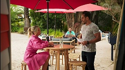 Amy Greenwood, Kyle Canning, Aaron Brennan in Neighbours Episode 8652