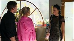 Ned Willis, Amy Greenwood, Fifi Devenue in Neighbours Episode 8652