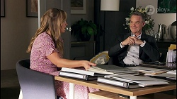 Harlow Robinson, Paul Robinson in Neighbours Episode 8652