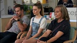 Aaron Brennan, Chloe Brennan, Jane Harris in Neighbours Episode 8652