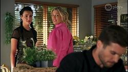 Fifi Devenue, Amy Greenwood, Ned Willis in Neighbours Episode 8652