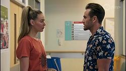 Chloe Brennan, Aaron Brennan in Neighbours Episode 8652