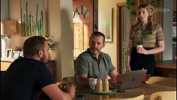 Kyle Canning, Toadie Rebecchi, Mackenzie Hargreaves in Neighbours Episode 8653