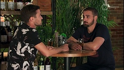 Ned Willis, Kyle Canning in Neighbours Episode 8654
