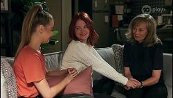 Chloe Brennan, Nicolette Stone, Jane Harris in Neighbours Episode 8655