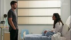Ned Willis, Yashvi Rebecchi in Neighbours Episode 8655
