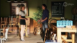 Chloe Brennan, Leo Tanaka in Neighbours Episode 8656