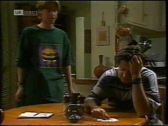 Brett Stark, Rick Alessi in Neighbours Episode 2151