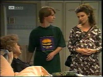 Cheryl Stark, Brett Stark, Gaby Willis in Neighbours Episode 2151