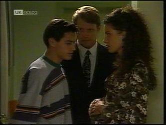 Rick Alessi, Kris Hyde, Gaby Willis in Neighbours Episode 2151