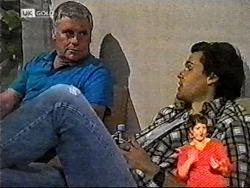 Lou Carpenter, Sam Kratz in Neighbours Episode 2178