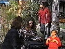 Pam Willis, Gaby Willis, Doug Willis in Neighbours Episode 2178