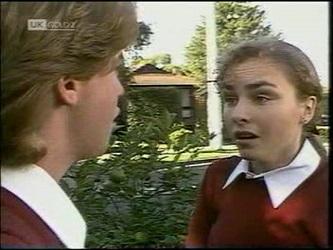 Brett Stark, Debbie Martin in Neighbours Episode 2180