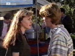 Debbie Martin, Brett Stark in Neighbours Episode 2193
