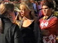 Jill Lette, Annalise Hartman, Mark Gottlieb in Neighbours Episode 2193