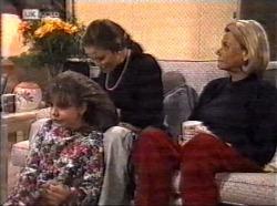 Hannah Martin, Julie Martin, Helen Daniels in Neighbours Episode 2196