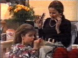Hannah Martin, Julie Martin in Neighbours Episode 2196