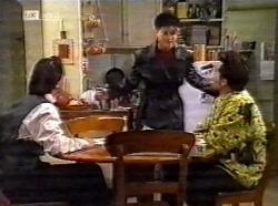 Rick Alessi, Danni Stark, Mark Gottlieb in Neighbours Episode 2199