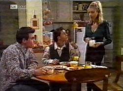 Mark Gottlieb, Rick Alessi, Annalise Hartman in Neighbours Episode 2199