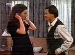 Gaby Willis, Rick Alessi in Neighbours Episode 2199