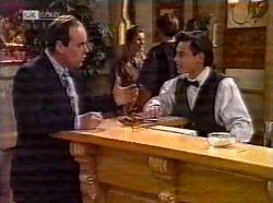 Philip Martin, Rick Alessi in Neighbours Episode 2199