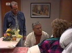 Doug Willis, Lou Carpenter, Cheryl Stark in Neighbours Episode 2202