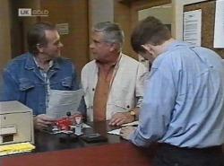 Doug Willis, Lou Carpenter, Registrar in Neighbours Episode 2202