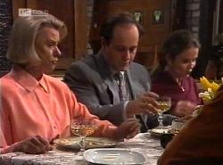 Helen Daniels, Philip Martin, Julie Martin in Neighbours Episode 2202