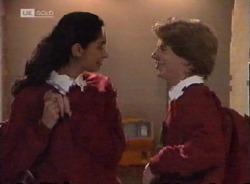 Lata Chatterji, Brett Stark in Neighbours Episode 2203