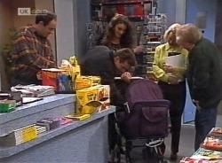 Philip Martin, Mark Gottlieb, Gaby Willis, Helen Daniels, Marlene Kratz in Neighbours Episode 2203