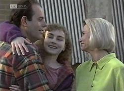 Philip Martin, Debbie Martin, Helen Daniels in Neighbours Episode 2203