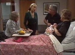 Marlene Kratz, Annalise Hartman, Lou Carpenter, Louise Carpenter (Lolly), Cheryl Stark in Neighbours Episode 2204