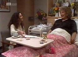 Gaby Willis, Cheryl Stark in Neighbours Episode 2204