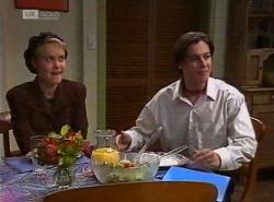 Cassandra Rushmore, Rick Alessi in Neighbours Episode 2204