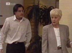 Rick Alessi, Rosemary Daniels in Neighbours Episode 2204