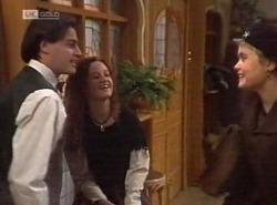 Rick Alessi, Cody Willis, Cassandra Rushmore in Neighbours Episode 2204