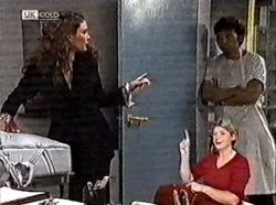 Gaby Willis, Kitchen hand in Neighbours Episode 2211