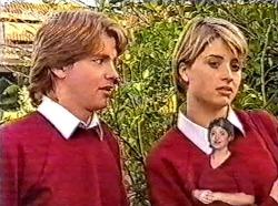 Brett Stark, Danni Stark in Neighbours Episode 2211