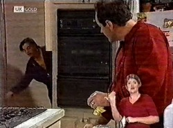 Rick Alessi, Philip Martin in Neighbours Episode 2211