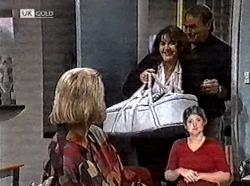 Helen Daniels, Pam Willis, Doug Willis in Neighbours Episode 2211