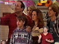 Philip Martin, Hannah Martin, Danni Stark, Cody Willis, Brett Stark in Neighbours Episode 2211