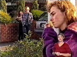 Cody Willis, Brett Stark, Debbie Martin in Neighbours Episode 2212