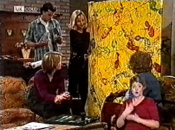 Sam Kratz, Danni Stark, Annalise Hartman, Marlene Kratz in Neighbours Episode 2212